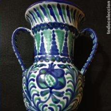 Antigüedades: JARRÓN DE CERÁMICA GRANADA. Lote 258879985
