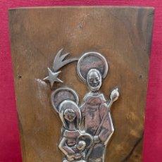 Oggetti Antichi: BONITO NACIMIENTO, EN PLATA DE LEY. DISEÑO AÑOS 60. Lote 258925140