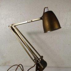Antiguidades: LAMPARA DE ESCRITORIO HADRILL & HURSIMANN - LONDON. Lote 259061610