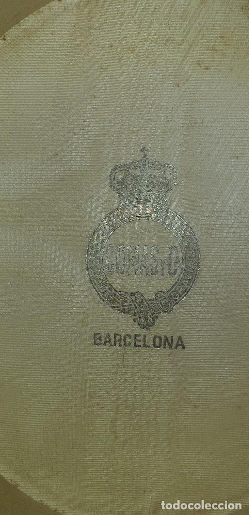 Antigüedades: SOMBRERO DE COPA MARCA COMAS Y CA. BARCELONA - Foto 7 - 259221325