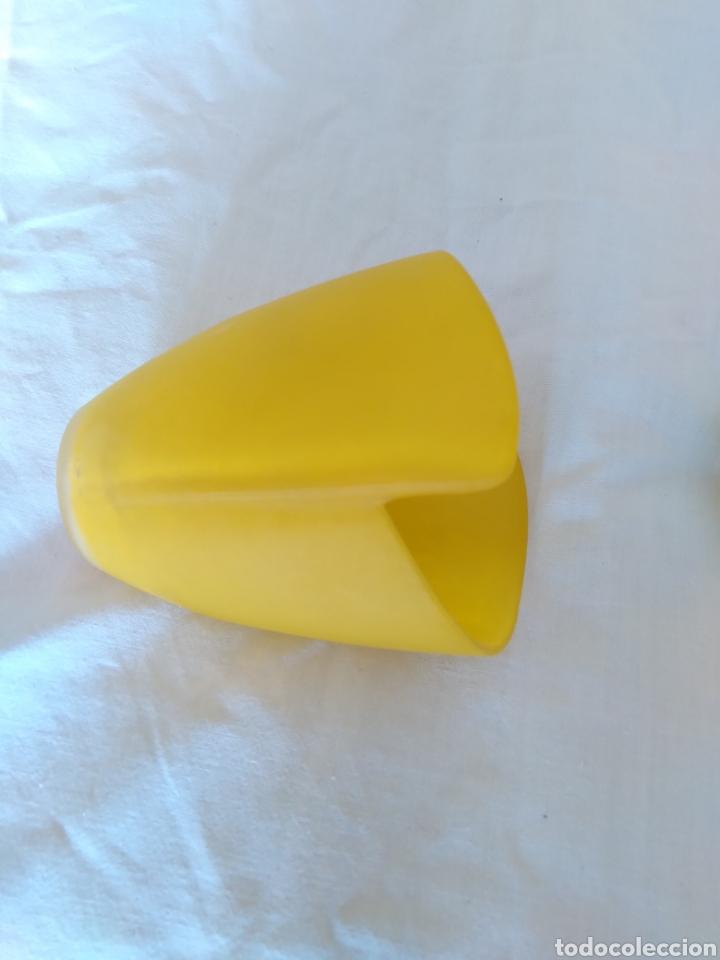 Antigüedades: tulipas opalina amarilla - Foto 4 - 259248845