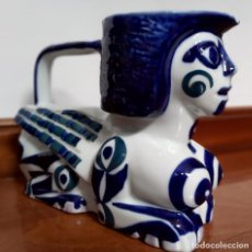 Antigüedades: GRAN JARRA ESFINGE SARGADELOS. ISAAC DIAZ PARDO. Lote 216714592