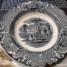 Antiquités: UN ENCANTO LA ESCENA DE ESTE BONITO PLATO HONDO DE SAN JUAN DE AZNALFARACHE. MUY BUENA CONSERVACIÓN.. Lote 259719490