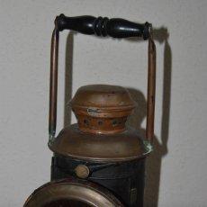 Antigüedades: ANTIGUO FAROL DE SEÑALES FERROVIARIO - RENFE - TREN. Lote 259755765
