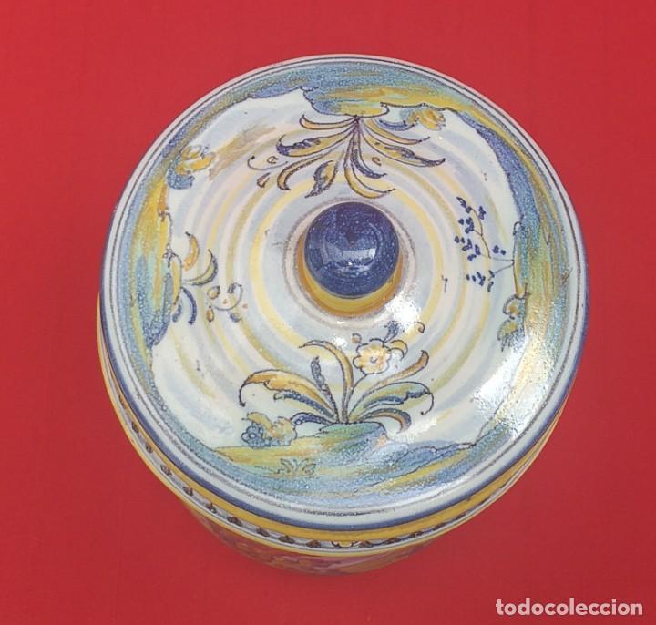 Antigüedades: TARRO DE CERÁMICA DE TALAVERA RUIZ DE LUNA PRIMERA MITAD SIGLO XX - Foto 9 - 259765780