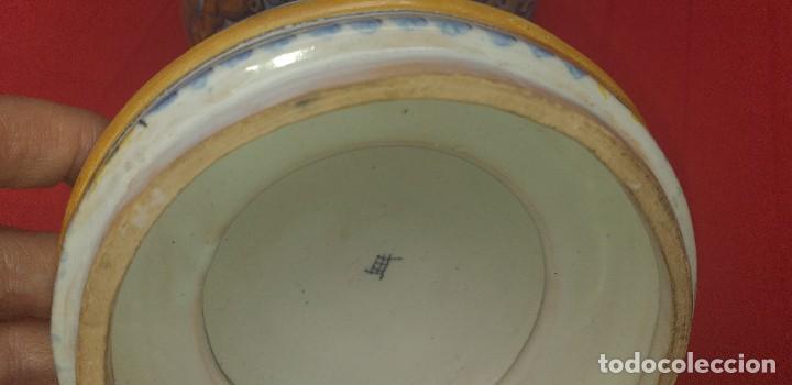Antigüedades: TARRO DE CERÁMICA DE TALAVERA RUIZ DE LUNA PRIMERA MITAD SIGLO XX - Foto 12 - 259765780