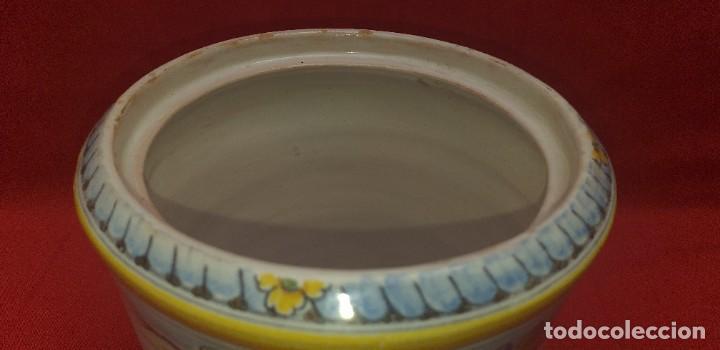 Antigüedades: TARRO DE CERÁMICA DE TALAVERA RUIZ DE LUNA PRIMERA MITAD SIGLO XX - Foto 13 - 259765780