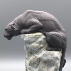 """Antiquités: REF: 01018196 """"EQUILIBRIO - TIGRE I"""" LLADRÓ. Lote 259766120"""