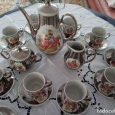 Antigüedades: JUEGO DE CAFE PORCELANA DE LEY. Lote 259766895