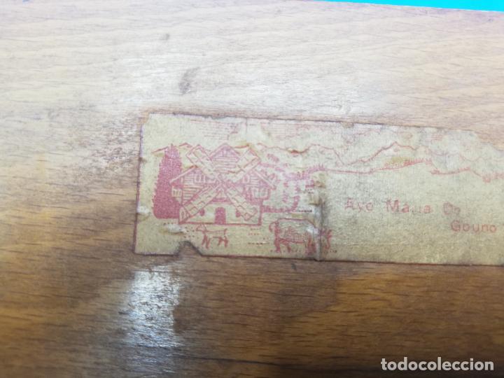 Antigüedades: CAJA CIGARRERA MUSICAL. MARQUETERIA DE TARACEA. VER FOTOS. MEDIDAS . 17 x 9.5 13.5 CM APROX. - Foto 16 - 259780735
