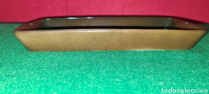 Antigüedades: Bandeja de escritorio con firma en su base. - Foto 2 - 259862195