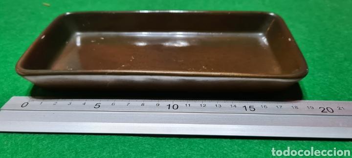 Antigüedades: Bandeja de escritorio con firma en su base. - Foto 8 - 259862195