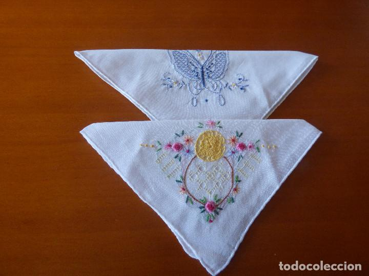 PAÑUELOS DE BOLSILLO. (Antigüedades - Moda - Pañuelos Antiguos)
