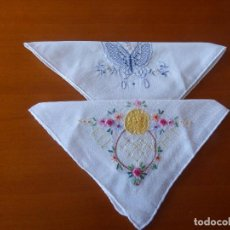 Antigüedades: PAÑUELOS DE BOLSILLO.. Lote 259891070