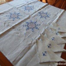 Antigüedades: MANTEL,LAGARTERA.. Lote 259901690