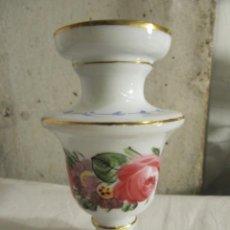 Antigüedades: JARRON EN OPALINA DE LA GRANJA - SIGLO XIX. Lote 259911465