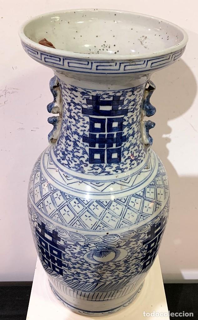 Antigüedades: Jarrón chino. - Foto 2 - 259918015