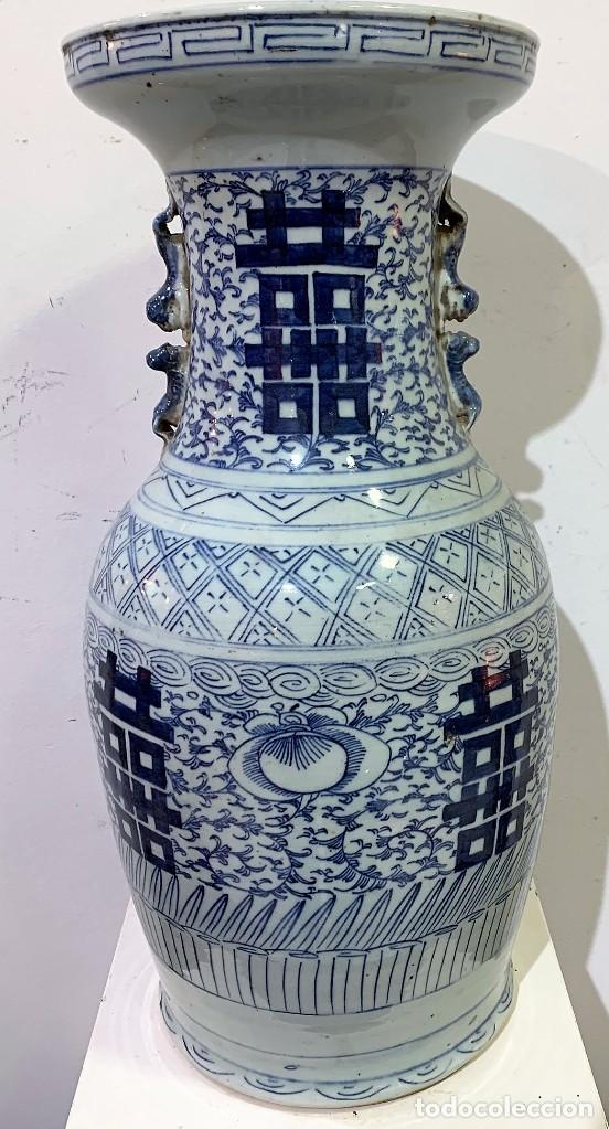 Antigüedades: Jarrón chino. - Foto 6 - 259918015