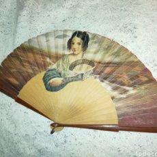 Antigüedades: 1910-1930S MONA LISA CON ABANICO. Lote 260049805