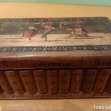 Antigüedades: ANTIGUA CAJA JOYERO DE MADERA. Lote 260117150