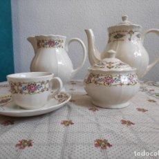 Antigüedades: JUEGO DE CAFÉ SAN CLAUDIO, CHAMBERLAIN. Lote 260312290