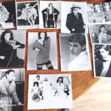 Antigüedades: JML LOTE 12 FOTOGRAFIAS FOTO MODA ROPA PASARELA PERIODISMO CINE DESFILE HOMBRE MUJER AGENCIA VER. Lote 260458185