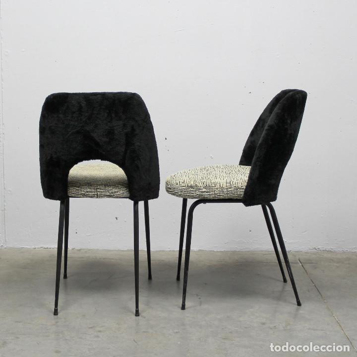 Antigüedades: Pareja de silloncitos o sillas de los años 50 - Foto 2 - 260466380