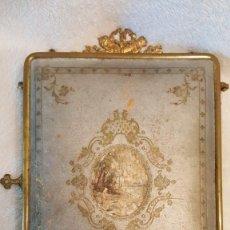 Antiquités: ANTIGÜEDADES - ESPEJO DE SOBREMESA - TRIPTICO. Lote 260545405
