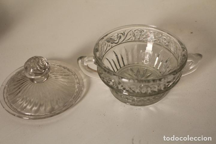 Antigüedades: azucarero cristal de santa lucia - cartagena - Foto 2 - 260635055