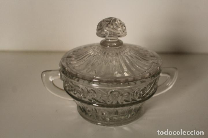 Antigüedades: azucarero cristal de santa lucia - cartagena - Foto 3 - 260635055