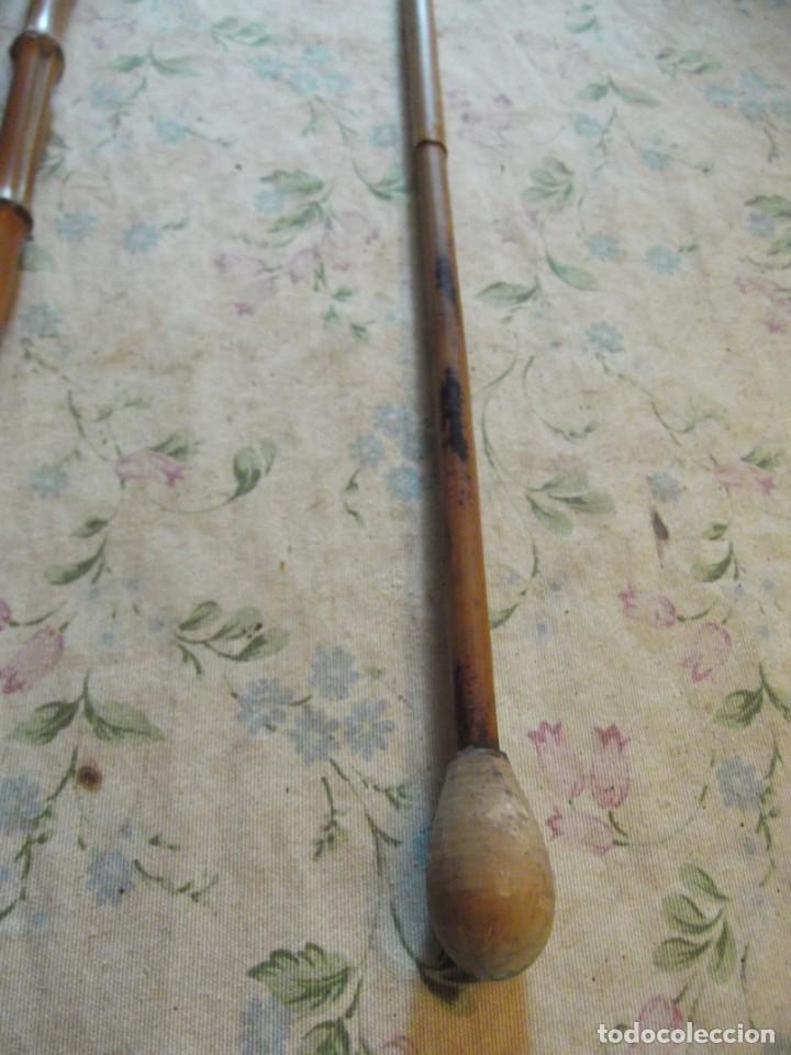Antigüedades: Extraño bastón 90 cm - Foto 2 - 260695130