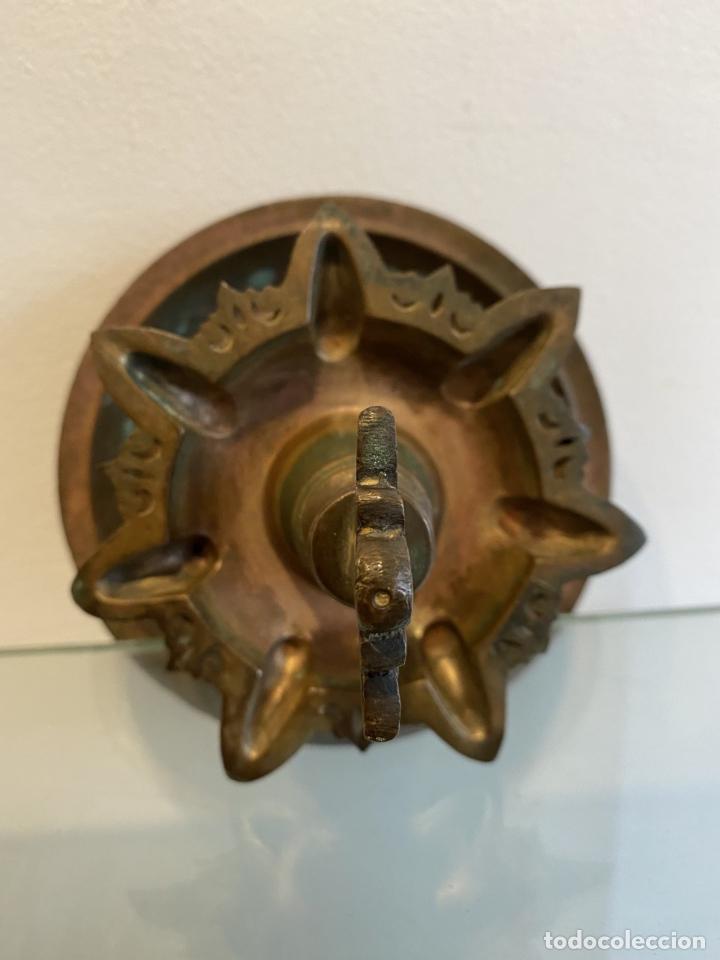 Antigüedades: Lampara judía de aceite para el sabath , siglo XVI - Foto 5 - 260716710