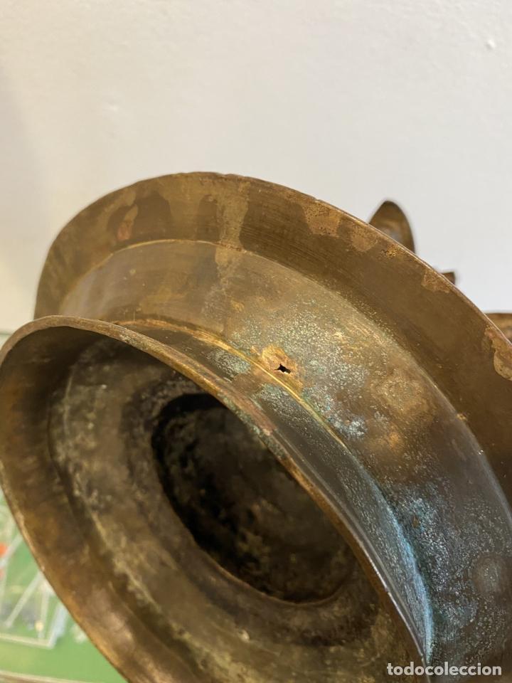 Antigüedades: Lampara judía de aceite para el sabath , siglo XVI - Foto 7 - 260716710