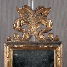 Antigüedades: MARCO EN MADERA DORADO SIGLO XVIII. Lote 260754730