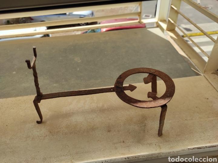 Antigüedades: Antiguo Trebede de Hierro Forjado - Foto 11 - 260770120