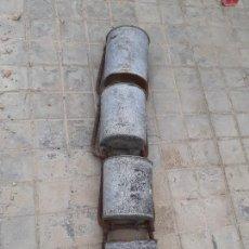 Antigüedades: CANJILÓN ARCADUZ CONJUNTO DE CONTRAMARCHA NORIA MUY ANTIGUOS // ETNOGRAFÍA POZO. Lote 260770590