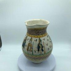 Antigüedades: JARRA DE CERÁMICA DE DE TALAVERA/PUENTE DEL ARZOBISPO XVIII-XIX. Lote 260791050