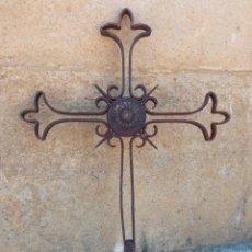Antigüedades: CRUZ SIGLO XVIII DE HERMITA.. Lote 260829910