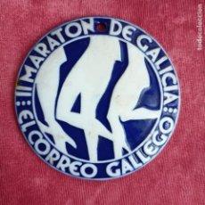 Antigüedades: II MARATÓN DE GALICIA 1989 O CASTRO SARGADELOS EL CORREO GALLEGO MEDALLA. Lote 260847380
