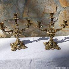 Antigüedades: CANDELABRO. Lote 260872100