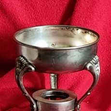 Antigüedades: MACETERO DE METAL. Lote 260891525