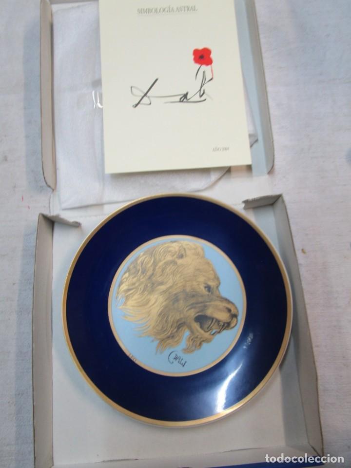 PLATO ZODIACO DALINIANO ' LEO ' - Nº 0059/5000, CERTIFICADO 2002 - DALI + INFO (Antigüedades - Porcelanas y Cerámicas - Otras)