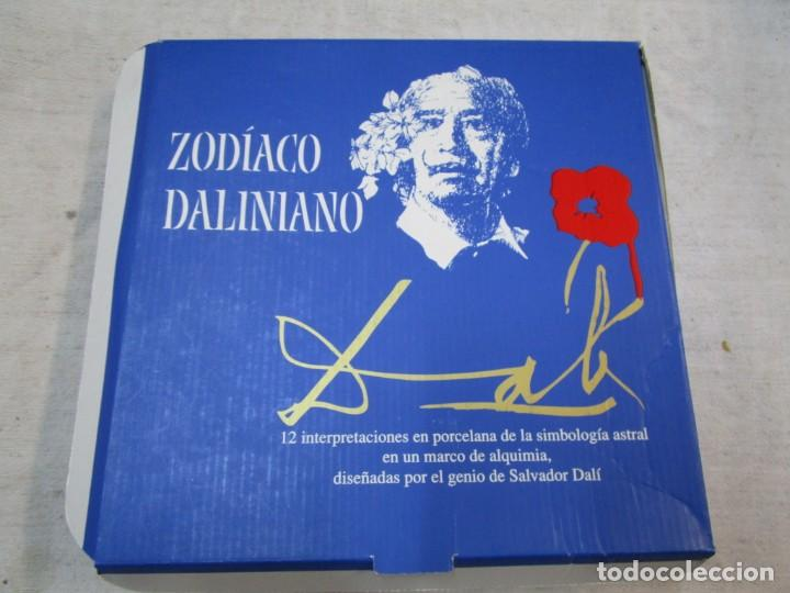 Antigüedades: PLATO ZODIACO DALINIANO LEO - Nº 0059/5000, CERTIFICADO 2002 - DALI + INFO - Foto 5 - 261110360