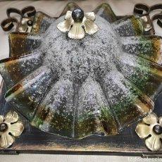 Antigüedades: LAMPADA ANTICA VETRO DI MURANO. Lote 261110910