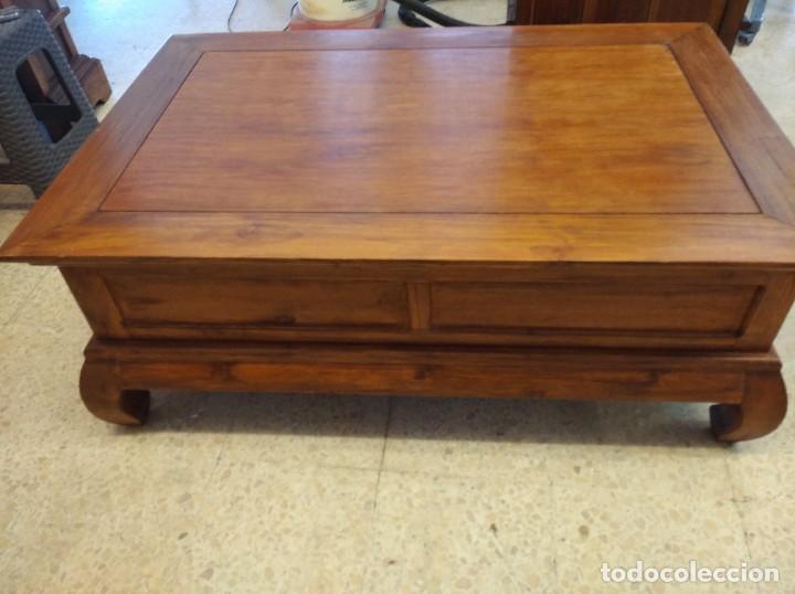 Antigüedades: Muebles antiguos Colonial Teca - Foto 5 - 261139120