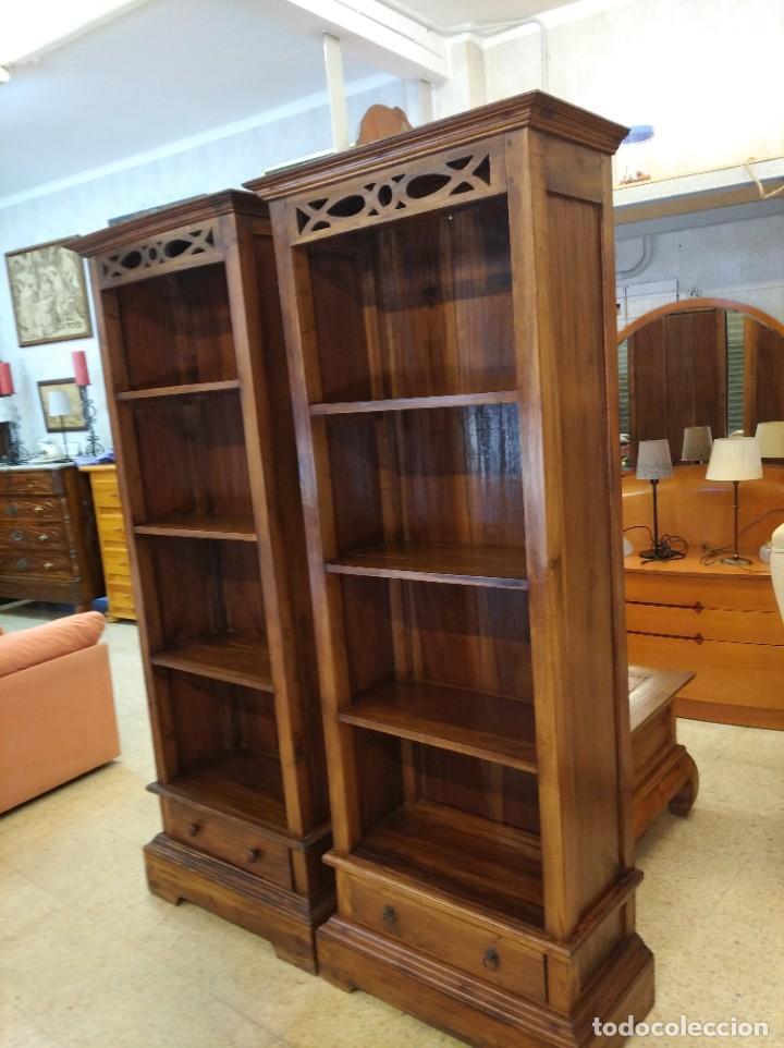 Antigüedades: Muebles antiguos Colonial Teca - Foto 6 - 261139120