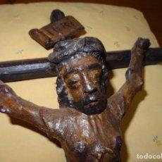 Oggetti Antichi: CRUCIFIJO, SIGLO XVIII. CRISTO CRUZ, JESUCRISTO. Lote 261160685