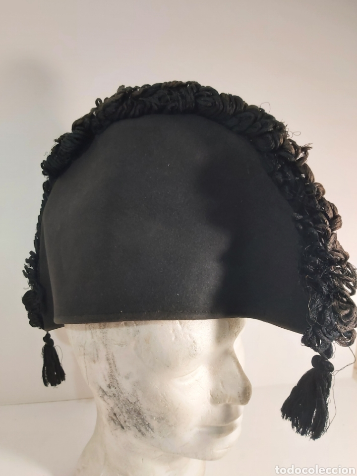BICORNIO GOLLESCO ALGUACILILLO TAURINO (Antigüedades - Moda - Sombreros Antiguos)