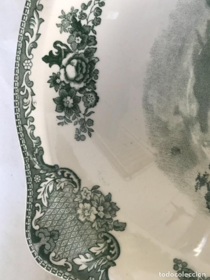 Antigüedades: ENSALADERA Y 6 BOLS Y SUS PLATOS PORCELANA JOHNSON BROS ENGLAND SERIE CASTLES. - Foto 5 - 261176400