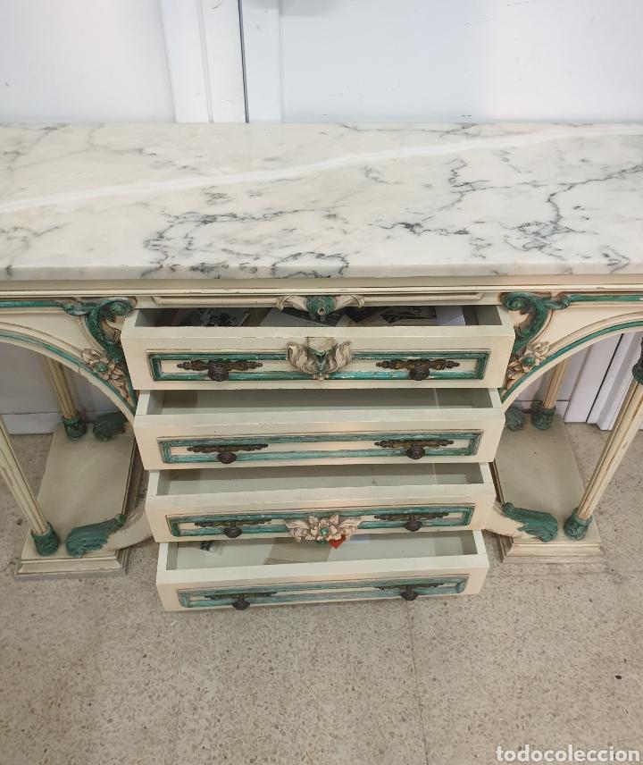 Antigüedades: Mueble recibidor - Foto 3 - 261285765